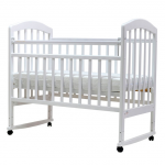 Кроватка-качалка Топотушки Лира-2 цвет: белый
