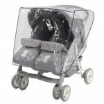 Дождевик на коляску для двойни Lorelli 2002002