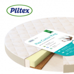 Детский матрас Plitex Flex Cotton Ring 64х64х10