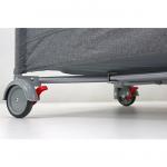 Детский манеж-кровать Rant Romano RP100 цвет: серый