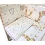 Бортик защитный в кроватку Африка 10106