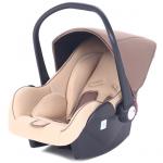 Автокресло Leader Kids Baby Leader Comfort II группа 0+ (от 0 до 13 кг) цвет: коричневый/бежевый