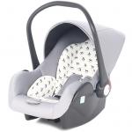 Автокресло Leader Kids Baby Leader Comfort II группа 0+ (0-13 кг) цвет: серый/принт лошадки