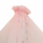Балдахин для кроватки Alis Карамель 85С4 цвет: розовый