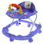 Детские ходунки Alis Весёлые друзья, цвет: фиолетовый