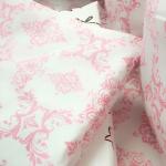 Комплект в кроватку 6 предметов BamBola Восточные сказки, цвет: розовый