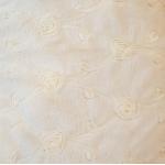 Конверт-Одеяло для новорожденного, вельбоа, кружево цвет: экрю