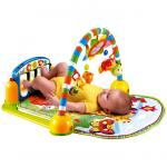 Развивающий игровой коврик Lorelli Toys Музыкальное пианино, цвет: синий