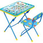 Комплект детской мебели стол+стул Nika Азбука КУ1/9