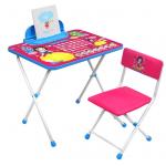 Фото: Комплект детской мебели стол+стул Nika Disney-1 Белоснежка Д1БК-М