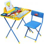Комплект детской мебели стол+стул Nika Тачки Д2Т