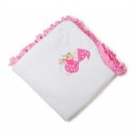 Комплект на выписку Соня Зима К-006, цвет: розовый
