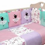 Комплект в кроватку Топотушки Балерина, 6 предметов, 681