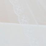 Балдахин в кроватку Alis микросетка, атлас, кружево, 4м цвет: шампань