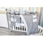Комплект в кроватку Топотушки Зайка, 6 предметов, 678