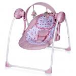 Электронные качели Lorelli Portofino 1903 цвет: розовый
