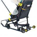 Санки-коляска Ника-Детям НД7-2 цвет: мишка/бежевый
