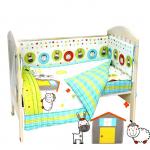 Комплект в кроватку Топотушки Ферма, 6 предметов, 651