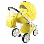 Купить Коляска 2 в 1 Adamex Luciano Deluxe Q108 цвет: желтая кожа можно в интернет-магазине Мир колясок Брянск, для этого необходимо поместить товар в корзину и оформить заказ. Подробное описание, характеристики, отзывы, фотографии.