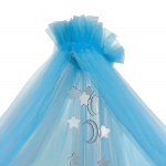Балдахин для кроватки Alis Карамель 85С4 цвет: голубой
