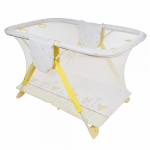 Манеж детский Globex Арена 760х1270х790 цвет: желтый