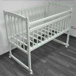 Кроватка-качалка Массив Беби-2 цвет: белый