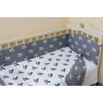 Комплект в кроватку Топотушки Фантазия 6 предметов 601/1 цвет: серый/лошадки