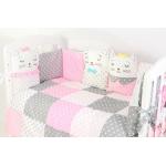 Комплект в кроватку Топотушки Китти, 6 предметов, 688/1 цвет: розовый