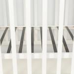 Кроватка-маятник+ящик Топотушки Сильвия-7 (46) цвет: белый
