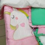 Комплект в кроватку Топотушки Единорог, 6 предметов, 677
