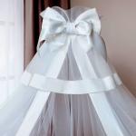 Балдахин для детской кроватки Perina Б-01.3 цвет: белый