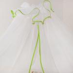 Балдахин в кроватку Евротек, 30564 цвет: зеленый