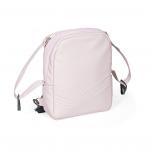 Коляска 2 в 1 Indigo Mio Mi 04 цвет: розовая кожа/розовый узор