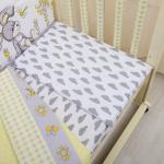 Комплект в кроватку Лето 6 предметов 10602 цвет: жёлтый