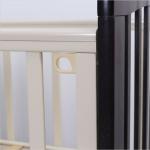 Кроватка-маятник с ящиком Топотушки Дарина-6 цвет: венге/слоновая кость