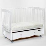 Кроватка-маятник универсальный+ящик Mr Sandman Pocket MRP-01 цвет: белый