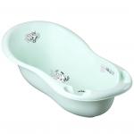 Ванна детская Tega Лисенок, 102 см, слив PB-LIS-005 цвет: светло-зеленый