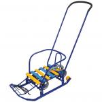 Санки Тимка-3К Универсал с толкателем Т3КУ цвет: синий
