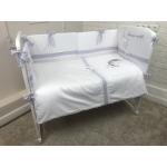 Комплект в кроватку Евротек, Buona notte 6 предметов, вышивка, 42006