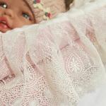 Конверт-одеяло Зайчик, аппликация, цвет: розовый
