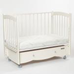 Кроватка-маятник универсальный+ящик Mr Sandman Pocket MRSP-09 цвет: ваниль