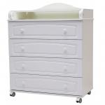 Пеленальный комод Топотушки Ричард 80/4 МДФ цвет: белый