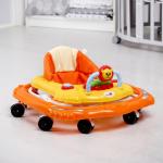 Детские ходунки Alis Львенок, SR101 цвет: оранжевый/жёлтый