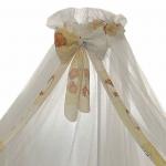 Балдахин в кроватку Евротек 150х300, 30553 цвет: бежевый