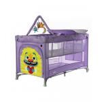 Манеж детский Carrello Molto CRL-11604 цвет: Orchid Purple