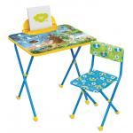 Комплект детской мебели стол+стул Nika Познайка: Хочу все знать! КП2/7