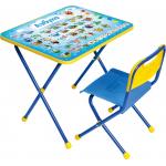 Комплект детской мебели стол+стул Nika Познайка: Азбука КП/9