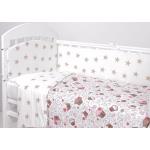 Комплект в кроватку Топотушки Фантазия 6 предметов 601/5 цвет: Пироженки/кофе