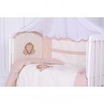 Комплект в кроватку Евротек, Ричард, 6 предметов, 32083 цвет: бежевый