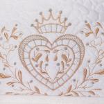 Конверт-одеяло на выписку Александра Весна цвет: бежевый